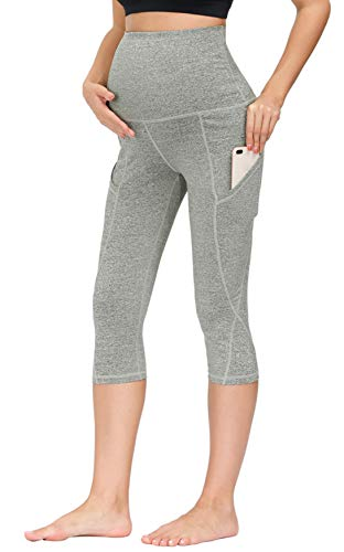 MAACIE Maternity Over Bump Yoga Pants