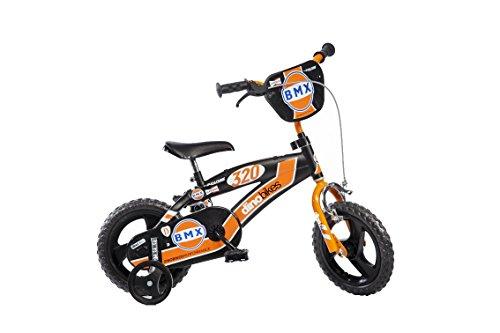 Dino Bikes BMX da ragazzo, marca Dinobikes, 12 pollici, da 3 a 5 anni, 125 XL