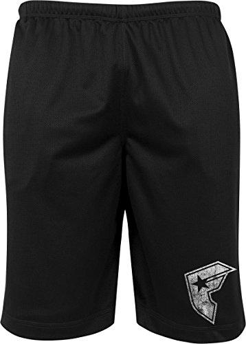 Famous Stars and Straps Herren Famous Logo Mesh Shorts, Black, S