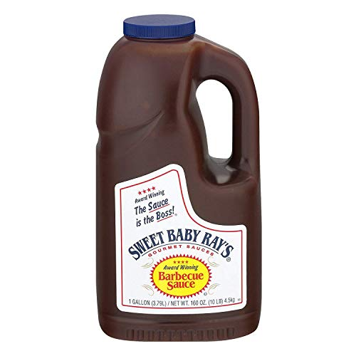 Sweet Baby Ray's - Salsa de barbacoa (1,0 gal), paquete de 4