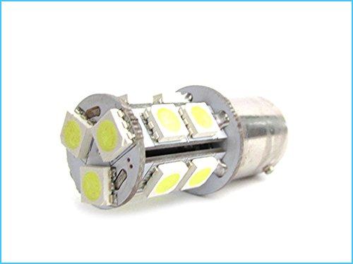 LEDLUX Miniaturowa rurowa lampa LED BA15D 220V 2W zimna biel do sygnalizacji bramki Bajour