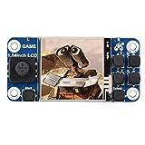 Pantalla táctil para Raspberry Pi, pantalla de mini consola de juegos de 1.54 pulgadas, pantalla táctil LCD, soporte para Raspberry Pi 2B / 3B + / Zero W, sin función de carga