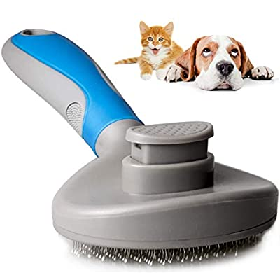 9ABOY Dog Brush and Cat Brush, Pets Grooming Br...