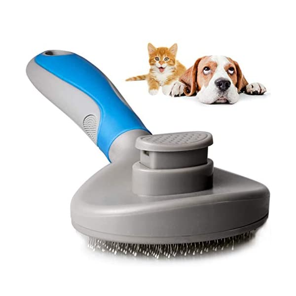 9ABOY Dog Brush and Cat Brush, Pets Grooming Brush for Dog and Cat with Short or...