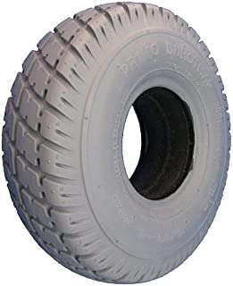 Pair of (2) Pride Jazzy Select 10 X 3 260 X 85 3.00-4 Solid Wheelchair Tires durotrap 114108