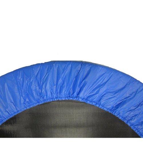 Upper Bounce Coprimolle Tappeto Elastico, Adatto per Telai da 1016 cm, Copertura Bordo Imbottitura Protettiva, Copri Bordo Cuscino per Mini Trampolino di Colore Blu