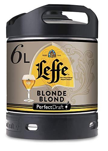 Fût 6L Perfectdraft - 5 euros de consigne inclus - Fût pour tireuse à bière (Leffe Blonde)