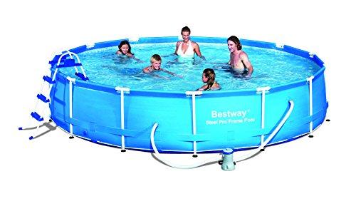'Bestway piscina Frame Telaio in acciaio–set di piatti 'Splash Junior con filtro pompa NL con accessori