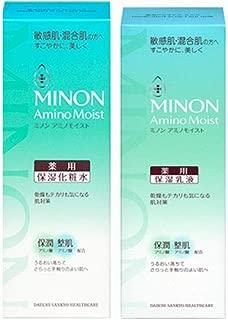 【化粧水+乳液】ミノン アミノモイスト 薬用アクネケアローション 150ml(4987107624871)+ミルク100g(4987107624925)
