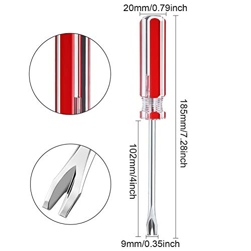 3 Packs Tack Lifter 3 mm U Tip Nail Staple Rivet Tack Puller Staple Remover Screwdriver Tool