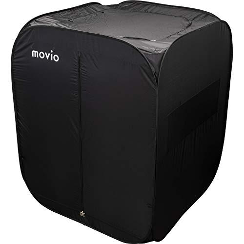 movio 持ち運び対応 屋内用パーソナルスペース ゲーミングテント 一人用テント 130x130x160cm M302T