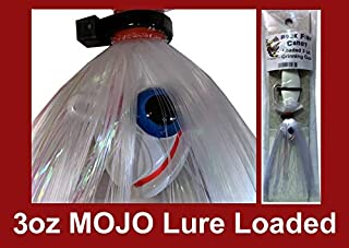 Blue Water Candy - Rock Fish Candy 3 oz Mojo Lure Loaded with 6-Inch Swimbait Shad Body - Grinning Gus