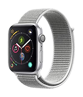 Apple Watch Series 4 (GPS, 44mm) Boîtier en Aluminium Argent - Boucle Sport Coquillage (B07JYQFHCP) | Amazon price tracker / tracking, Amazon price history charts, Amazon price watches, Amazon price drop alerts