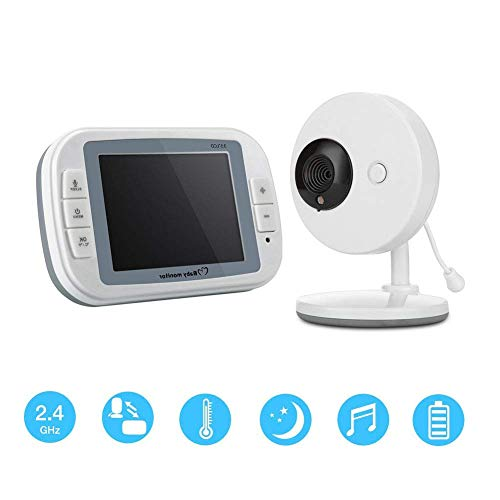 Best Prices! MA Security Camera WiFi Smart WiFi Wireless Video Temperature Monitoring Security Monit...