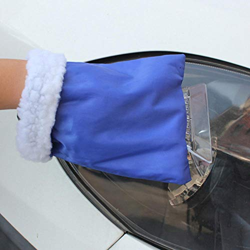 Best Price Portable Auto Snow Removal Warm Glove Winter Antifreeze Scraping Snow Shovel Car Practica...