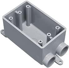Carlon E982DFN-CTN PVC Field Service Split 1 Gang Box, 1/2-In. - Quantity 12