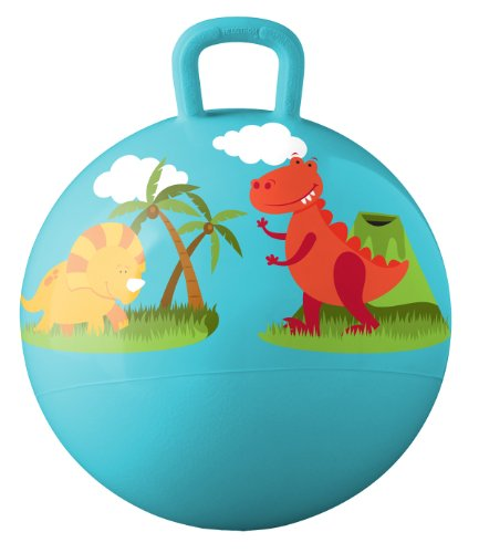Hedstrom Dinosaurs Hopper Ball, Kid's Ride-on, Bouncy Ball, 18-Inch