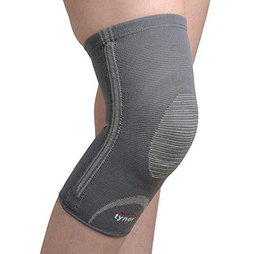 Tynor Knee Cap with Patellar Ring (Relieves Pain,3D woven, Patellar Support,Uniform Compression, Comfortable,Anti Slip)-Large