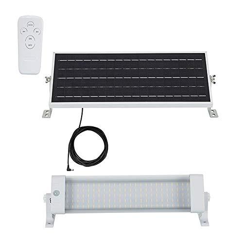 DK Multitec - Regleta Solar LED Estanca 445mm 10 varios Iluminación exterior jardinn camping caravana (K4000)