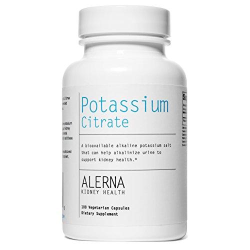Alerna Kidney Health Health Potassium Citrate (99mg) (Vegetarian Capsules)