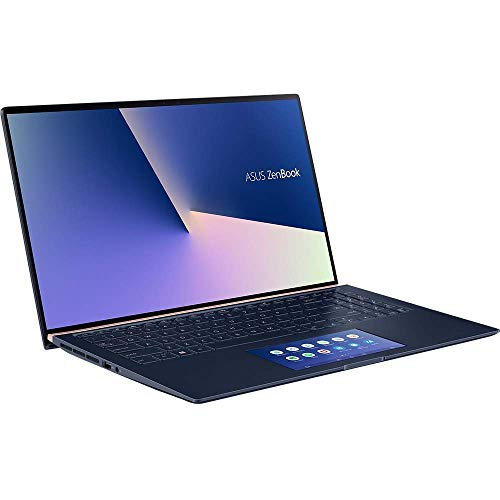 ASUS Computer ZenBook 15 UX534FT (90NB0NK3-M00240) 39,6cm (15,6 Zoll, FHD, WV) Ultrabook (Intel Core i7-8565U, 16GB RAM, 512GB SSD, NVIDIA GeForce GTX 1050 Ti (4GB), Windows 10) royal blue