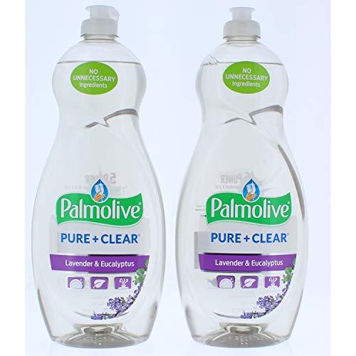 2 Pk. Ultra Palmolive Pure Clear Lavender & Eucalyptus Dish Liquid, 32.5 Fl. Oz (65 Fl Oz Total)