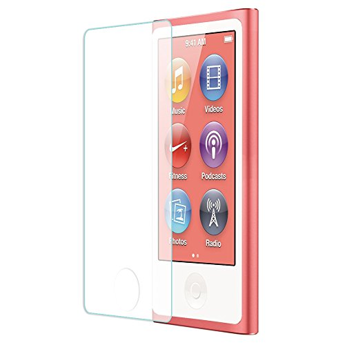 Tranesca Tempered Glass Screen Protector for iPod Nano 7th Generation