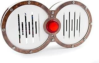 C4 Labs Venn Pi + AIY Case for Voice Kit V1 and V2- Raspberry Pi 3B+, 3, Pi 2, and Pi B+ (White)