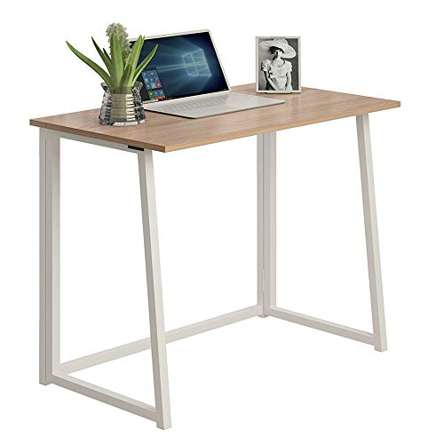 THKKY No-Assembly Folding Desk, 31.5