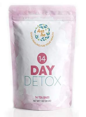 14 Day Detox Cleanse Weight Loss Tea - Slim Tea for Weight Loss and Belly Fat with All Natural Organic Herbal Ingredients That Help Reduce Bloating, Boost Metabolism and Release Toxins, Slimming Tea from Averlexx Llc