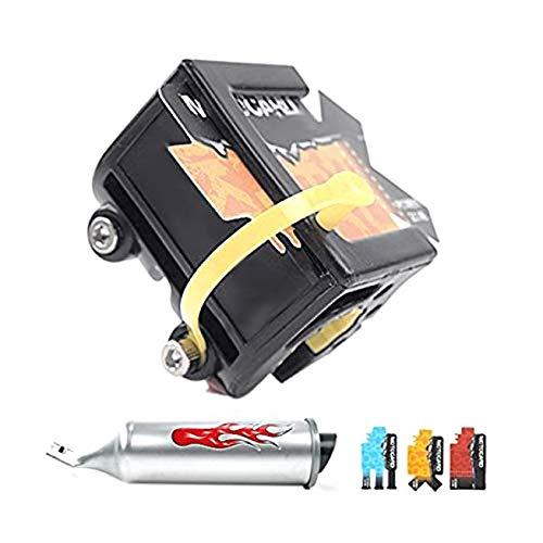 DULALA Fahrrad Auspuffanlage mit 6 einstellbaren Turbo-Motorrad Sound Kinder Motor Sound