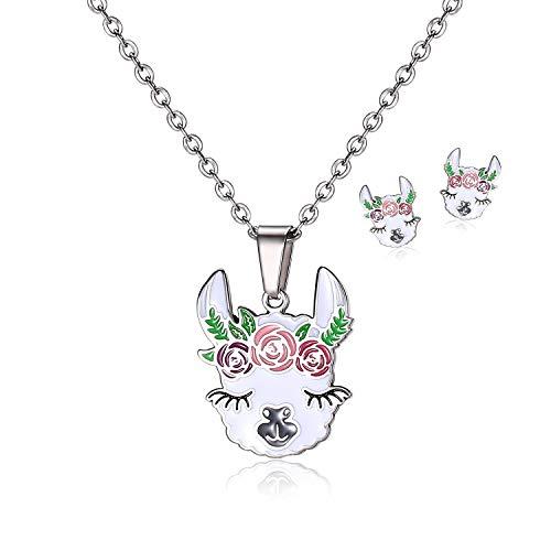 Llama Jewelry Set