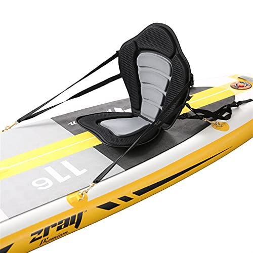 cyg Asiento De Kayak, Creatividad Canoa Acolchada,Asiento De Kayak Cojín para Barco De Pesca Base Acolchada Suave Antideslizante Kayak Barco Asientos