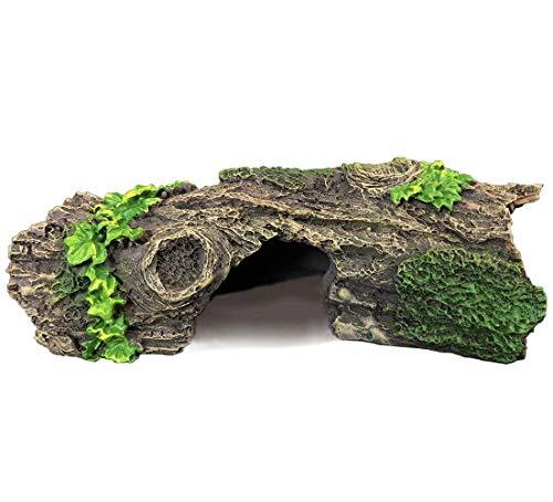 SLOCME Adorno de madera para acuario para peces, decoración de madera de deriva con cueva para peces y camarones para nadar o esconderse