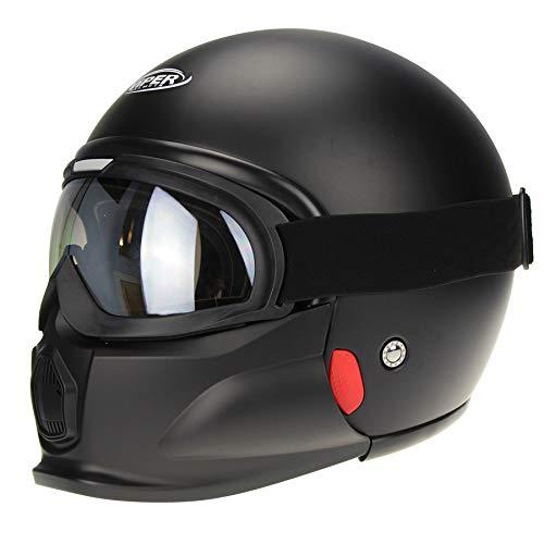opiniones casco moto custom calidad profesional para casa