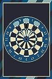 Notizbuch A5 Kalender 2021 Dartspiel Taschenkalender Terminplaner Jahreskalender: Schreibblock retro Dartscheibe Dartpfeile Spielbuch Terminkalender ... Männerabend Vatertag Vater Ehemann Papa