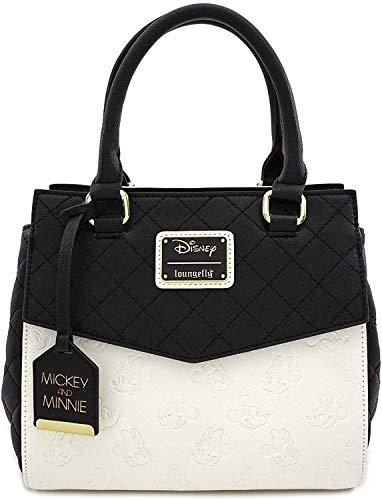 Loungefly Disney Mickey & Minnie Mouse Faux Leather Handbag Standard