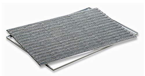 ACO indoor schoenveegmachine 37256, 75x50cm Kleur: grijs