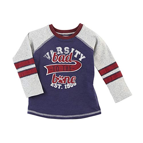 Mud Pie Boys Baby Toddler Puppy Long Sleeve T-Shirt, Multicolor, 12-18...