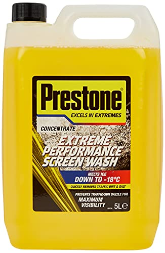 Prestone PSCW0028A Concentrated Screenwash, 5 L