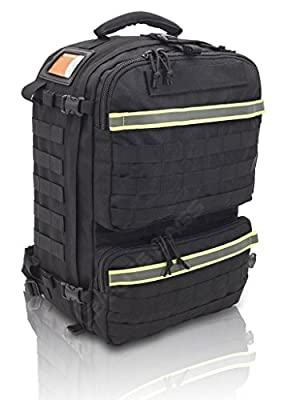 Elite Bags Tactical Medical Rescue Backpack Black Unkitted by