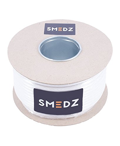 Smedz 25m HD100 Ultra Class A+ Advanced Digital Approved TV and Satellite Coaxial Cable - White