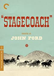 "Cover of the movie ""Stagecoach."""