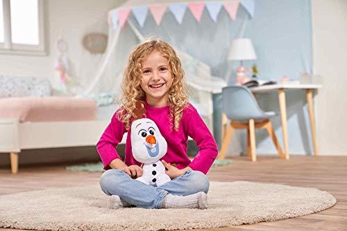 Simba Disney Frozen Olaf Peluche 25 cm, +0 Anni, 6315877556
