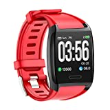 2019 Mejor Regalo !!! Reloj Inteligente de la presión Arterial Lankcook Smart Watch Sports Fitness Activity Heart Tracker