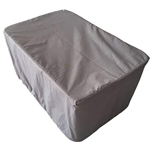 SSRS Silla de jardín muebles de ratán cover set Cubierta de mesa al aire libre la plaza a prueba de polvo impermeable Tamaño protección solar anti-UV de poliéster gris personalizable portátil, durader