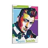 Cool Sänger Sam Smith Poster, dekoratives Gemälde,