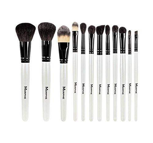 commercial Morphe Set 706 – 12 Piece Black and White Travel Set morphe brush sets