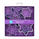 R&M International Snowflake Cookie Cutters, Assorted Sizes, 7-Piece Set