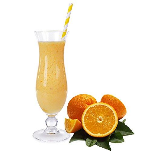 Apfelsine Molkepulver Luxofit mit L-Carnitin Protein angereichert Wellnessdrink Aspartamfrei Molke (Apfelsine, 333 g)